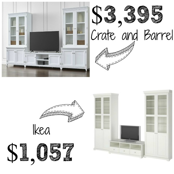 Decor Look Alikes | Crate & Barrel Harrison Entertainment Center