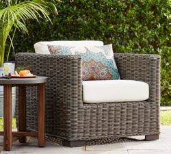 Pottery Barn Huntington All Weather Wicker Chair