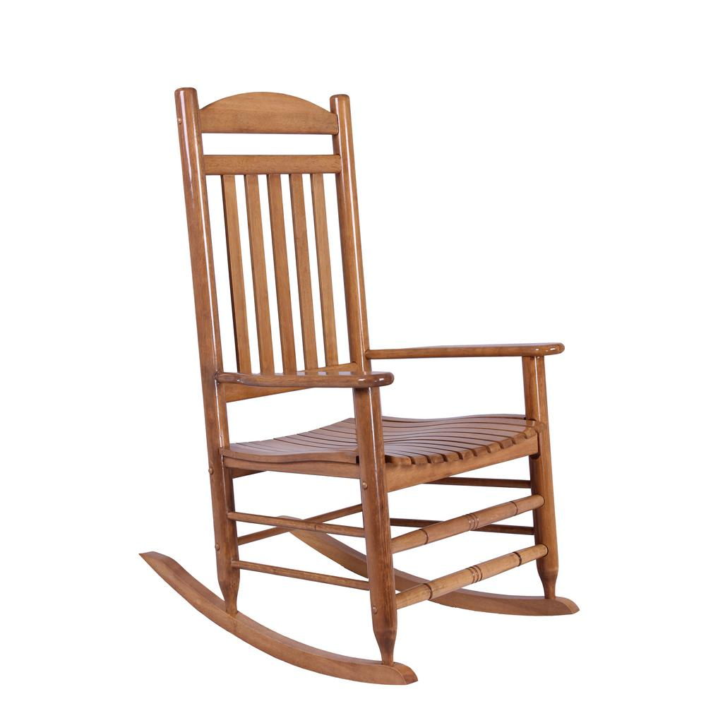 Home Depot Natural Wood Rocking Chair