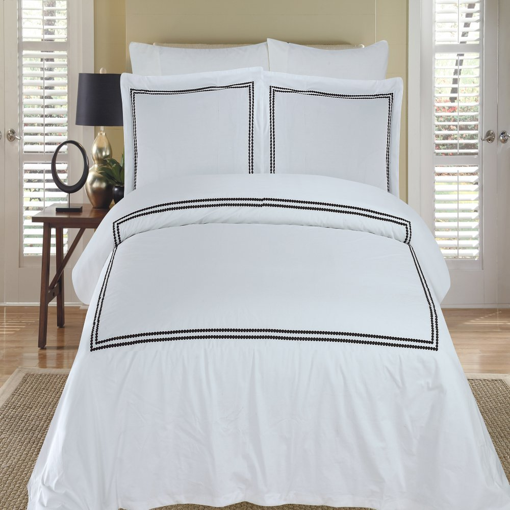 pottery barn duvet covers Pottery Barn Pearl Embroidered Duvet Cover and Shams   Decor Look  pottery barn duvet covers