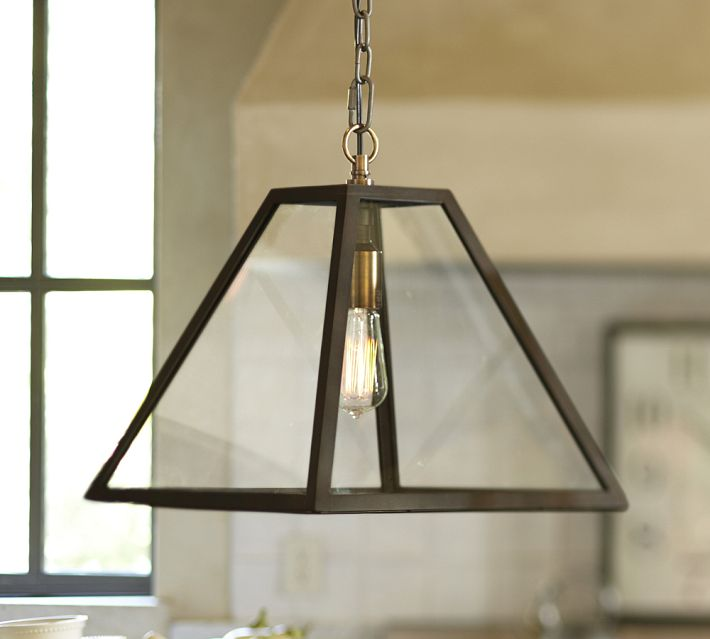 pottery barn kitchen lighting everybody s doing it glass pendants with filament bulbs 4379