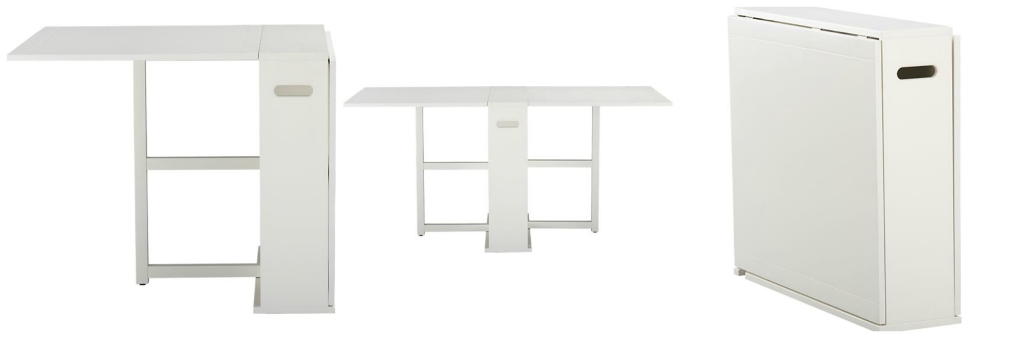 Crate And Barrel Span Gateleg Dining Table